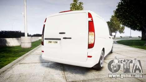Mercedes-Benz Vito GIGN [ELS] para GTA 4 Vista posterior izquierda