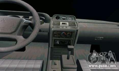 Mitsubishi Pajero Intercooler Turbo 2800 para la visión correcta GTA San Andreas