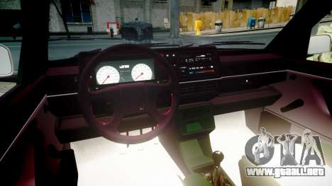 Volkswagen Golf MK2 GTi 1992 para GTA 4 vista lateral