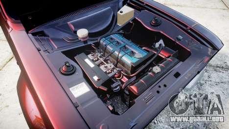 Ford Escort Mk1 para GTA 4 vista hacia atrás