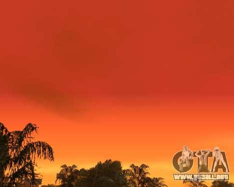 Realista cielo (Cielo Mod) para GTA San Andreas tercera pantalla