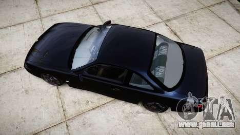 Nissan Silvia S14 Kouki Hellaflush para GTA 4 visión correcta