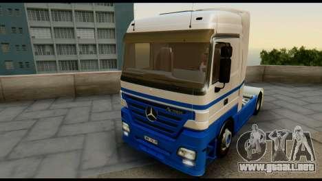 Mercedes-Benz Actros PJ1 para la vista superior GTA San Andreas