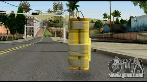 TNT from Metal Gear Solid para GTA San Andreas segunda pantalla