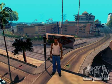 Gráfico Mod Eazy v1.2 para PC débil para GTA San Andreas quinta pantalla
