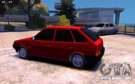 VAZ 2109 para GTA 4 left