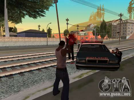 Blood Effects para GTA San Andreas