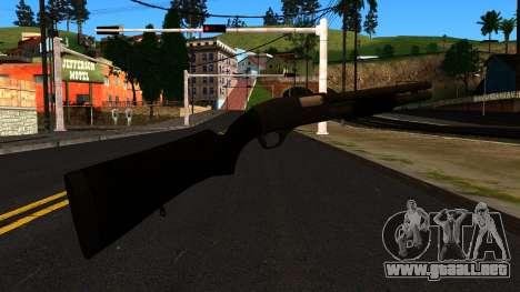 Negro MP-133 con Glitter para GTA San Andreas segunda pantalla