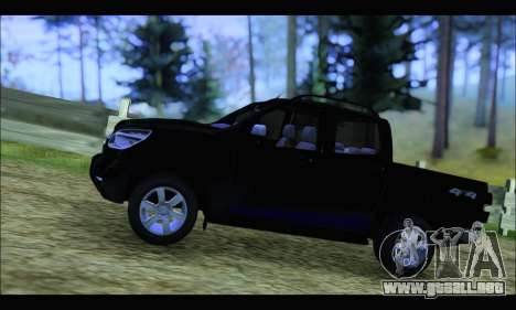 Chevrolet S10 LTZ 2014 para GTA San Andreas left