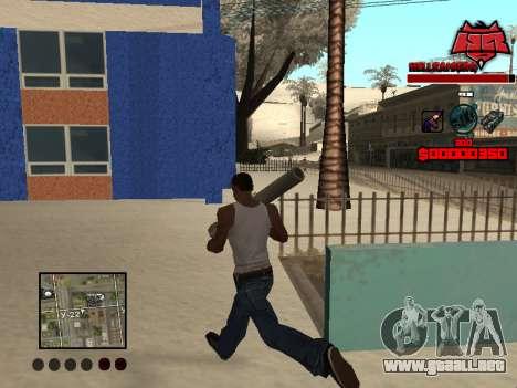 C-HUD Raisers para GTA San Andreas tercera pantalla