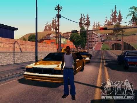 Gráfico Mod Eazy v1.2 para PC débil para GTA San Andreas sucesivamente de pantalla
