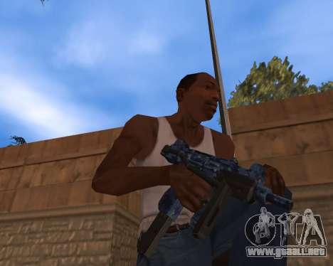 Año nuevo Pack de Armas para GTA San Andreas tercera pantalla