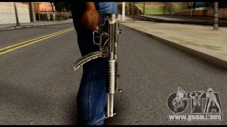 MP5 SD from Max Payne para GTA San Andreas tercera pantalla