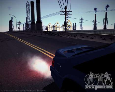 ENBSeries débiles y medianas PC para GTA San Andreas quinta pantalla