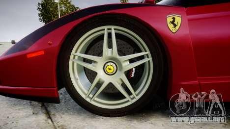 Ferrari Enzo 2002 [EPM] Stripes para GTA 4 vista hacia atrás