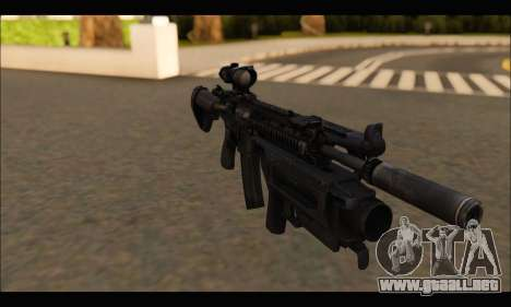 HK416 M320 Devgru para GTA San Andreas tercera pantalla