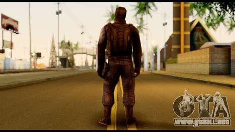 Counter Strike Skin 4 para GTA San Andreas segunda pantalla