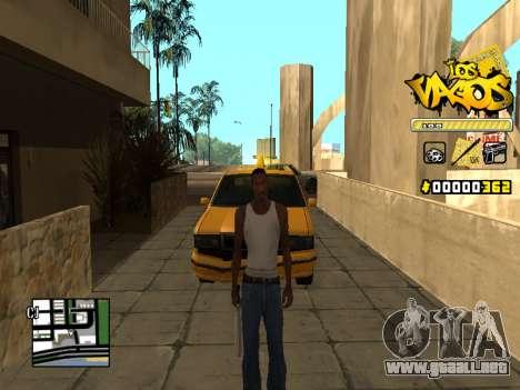C-HUD Los Santos Vagos Gang para GTA San Andreas