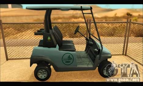 Caddy (GTA V) para GTA San Andreas left
