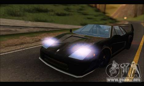Turismo Limited Edition para GTA San Andreas left