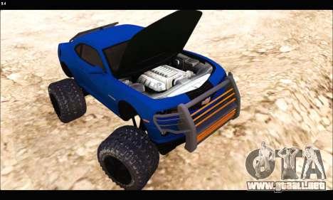 Chevrolet Camaro SUV Concept para GTA San Andreas vista hacia atrás