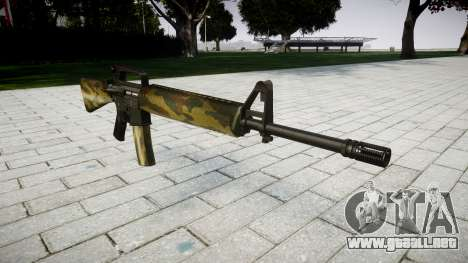 El rifle M16A2 flora para GTA 4