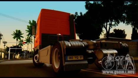 Mercedes-Benz Actros PJ2 para GTA San Andreas left