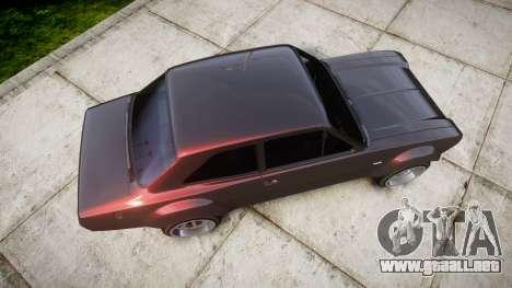 Ford Escort Mk1 para GTA 4 visión correcta