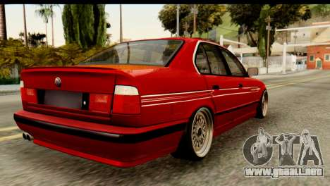BMW M5 E34 Alpina para GTA San Andreas left