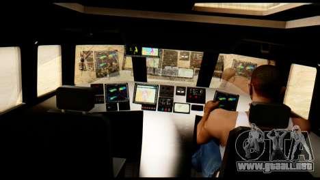 DV-15 Interceptor BF4 para la visión correcta GTA San Andreas