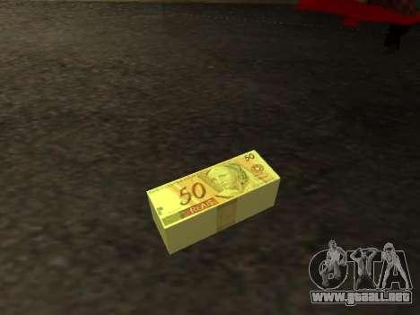 Mod de la selección Brasileña de dinero para GTA San Andreas