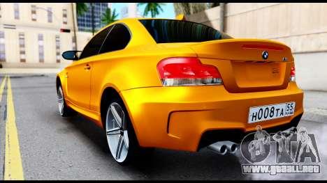 BMW M1 para GTA San Andreas left