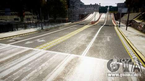 La textura de carreteras de alta definición de 2 para GTA 4 tercera pantalla