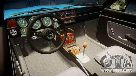Nissan Skyline 2000GT para GTA 4