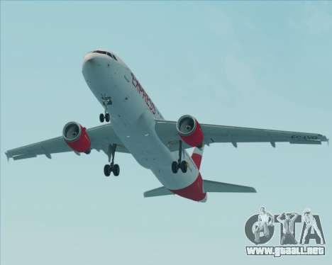 Airbus A320-200 Iberia Express para el motor de GTA San Andreas