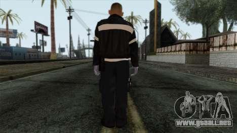 GTA 4 Skin 37 para GTA San Andreas segunda pantalla