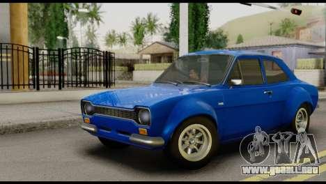 Ford Escort Mark 1 1970 para GTA San Andreas