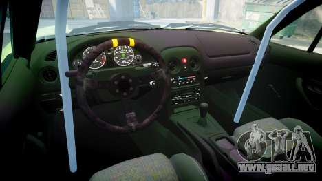 Mazda MX-7 para GTA 4 vista interior