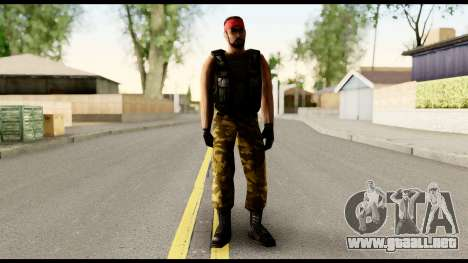 Counter Strike Skin 1 para GTA San Andreas