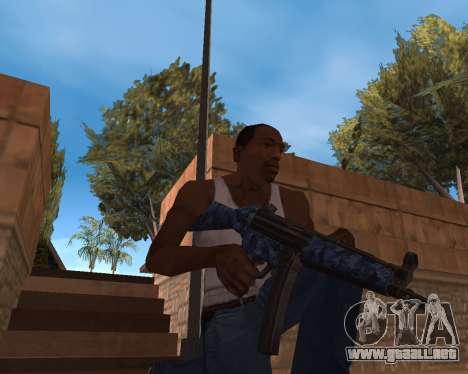 Año nuevo Pack de Armas para GTA San Andreas segunda pantalla