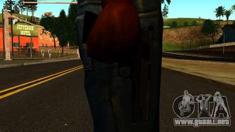 Colt 1911 from Battlefield 3 para GTA San Andreas tercera pantalla