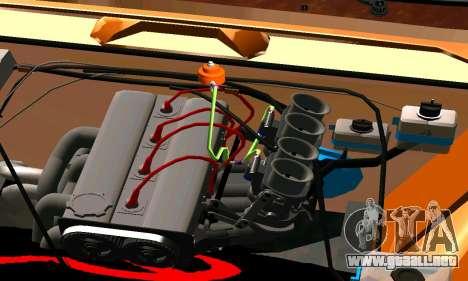 VAZ 2101 Ratlook v2 para GTA San Andreas vista posterior izquierda