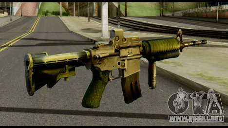 SOPMOD from Metal Gear Solid para GTA San Andreas segunda pantalla