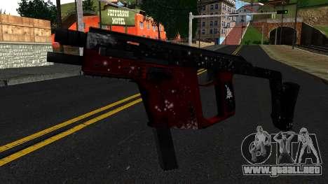 Navidad MP5 para GTA San Andreas
