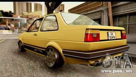 Volkswagen Jetta A2 Coupe para GTA San Andreas left