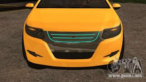 Cheval Surge 1.1 (IVF) para GTA San Andreas vista posterior izquierda