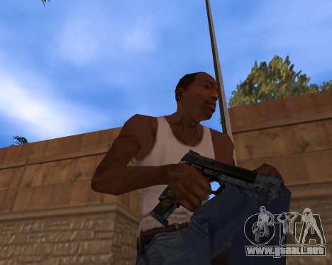 Año nuevo Pack de Armas para GTA San Andreas sucesivamente de pantalla