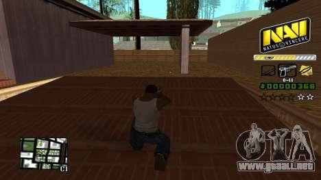 C-HUD NAVI para GTA San Andreas tercera pantalla