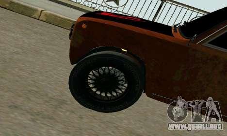 VAZ 2101 Ratlook v2 para GTA San Andreas vista hacia atrás
