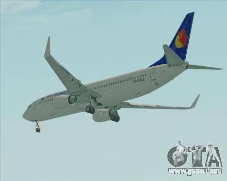 Boeing 737-800 Air Philippines para la visión correcta GTA San Andreas